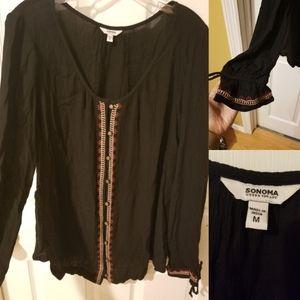 Long Sleeve Boho Shirt